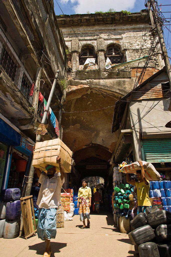 Gate Where William Carey Came Preaching The Gospel, Dhaka, Bangladesh : Stock Photo