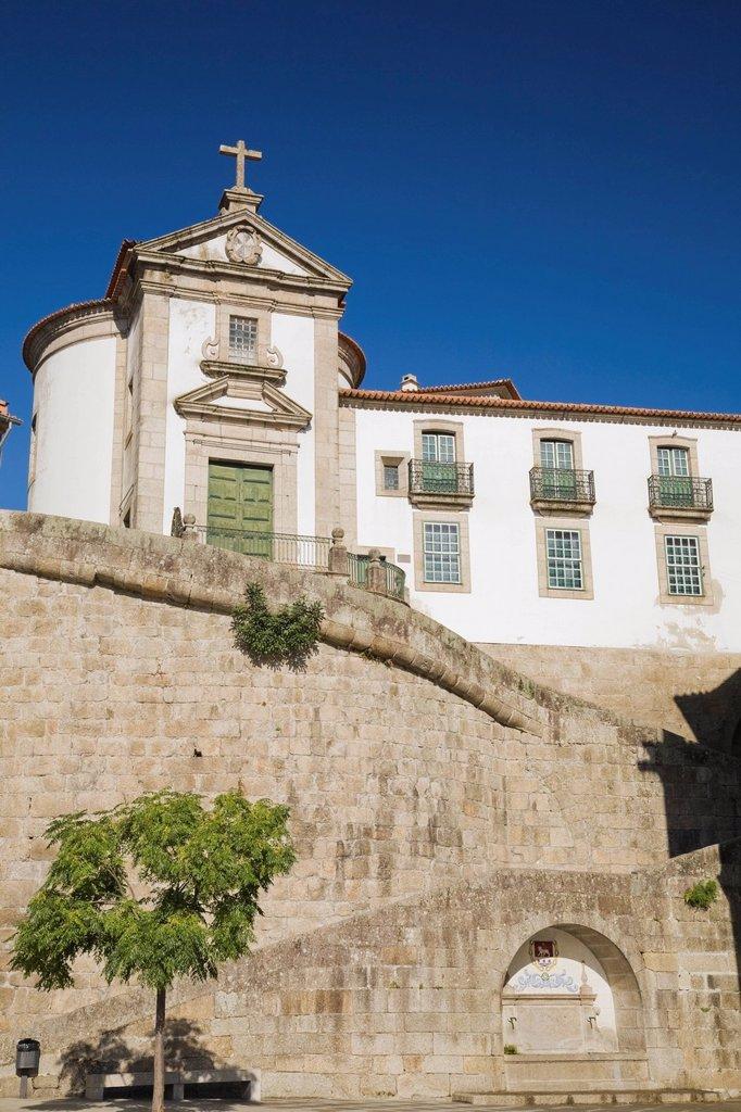 santo domingos church, amarante, portugal : Stock Photo