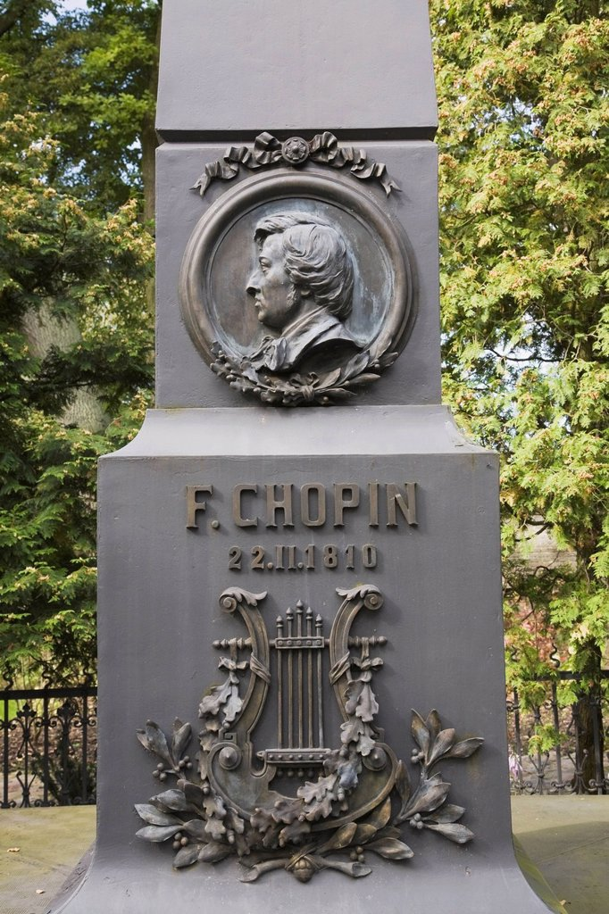 Stock Photo: 1889-74823 Frederic Chopin Monument, Zelazowa Wola Poland