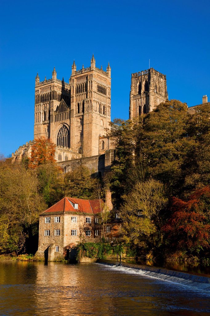 Stock Photo: 1889-75213 Durham Cathedral, Durham England