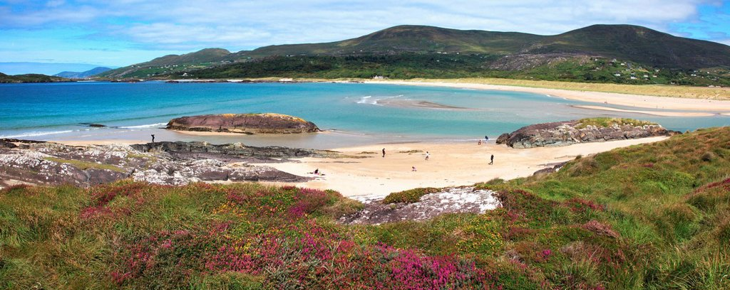 Stock Photo: 1889-75746 Derrynane beach near caherdaniel, county kerry ireland