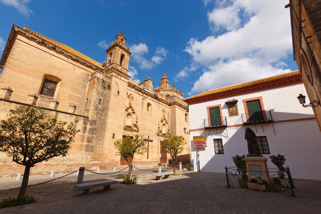 Stock Photo: 1889-76869 Convent of the barefooted, carmona seville province spain