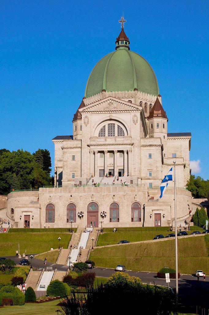Stock Photo: 1889-81150 St. joseph´s oratory, montreal quebec canada