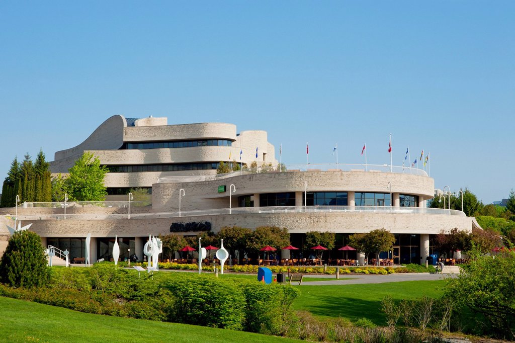 Canadian museum of civilization, hull quebec canada : Stock Photo