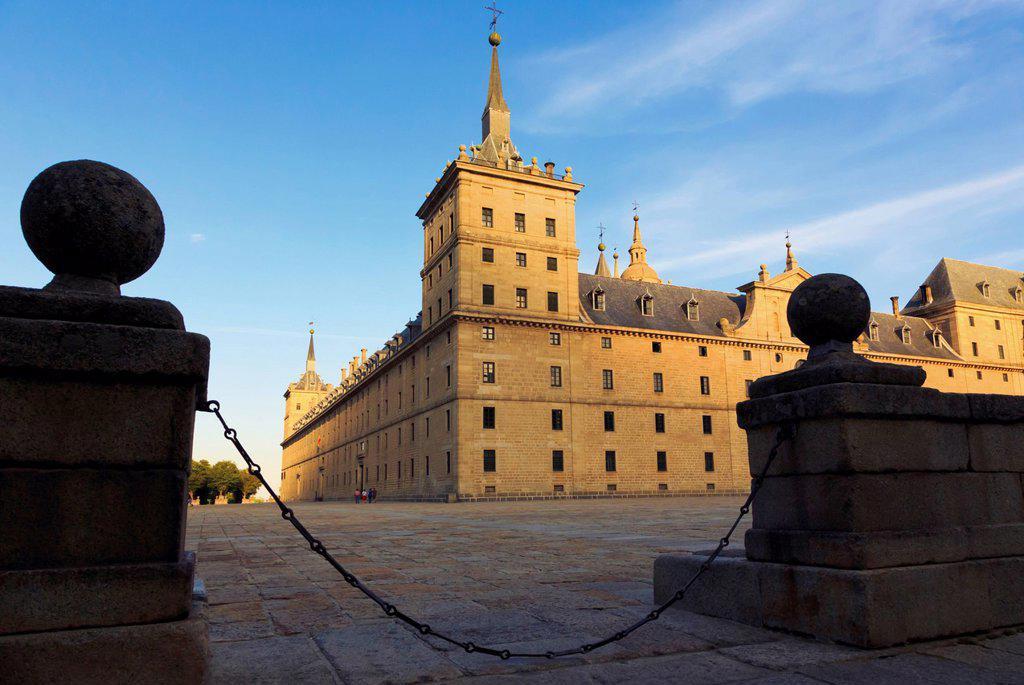 Stock Photo: 1889-84463 The Royal Monastery Of El Escorial, San Lorenzo De El Escorial Comunidad De Madrid Spain