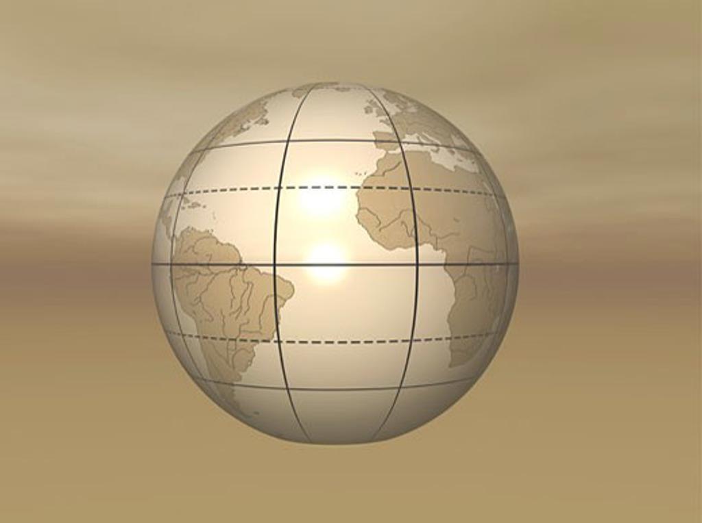 3D Globe : Stock Photo