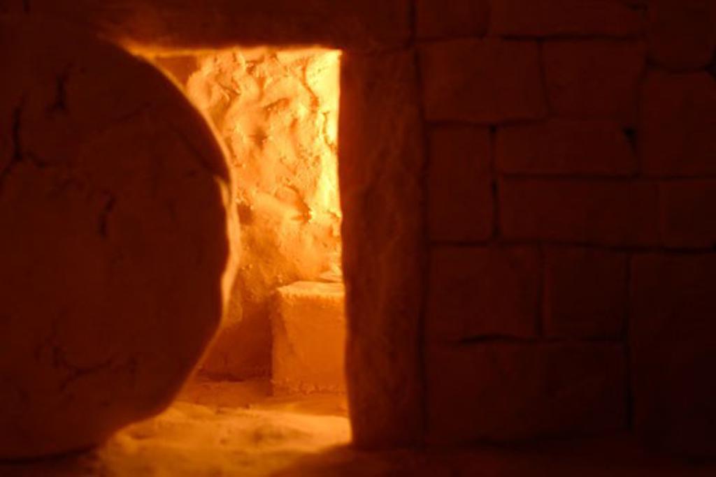 Stock Photo: 1889R-10978 Empty tomb