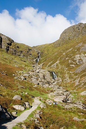 Stock Photo: 1889R-11145 Mahon Falls, Comeragh Mountains, Co Waterford, Ireland
