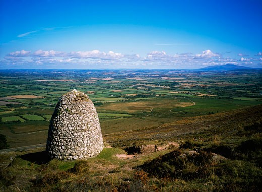 Grubb Monument, Knockmealdown Mountains, Co Waterford, Ireland : Stock Photo