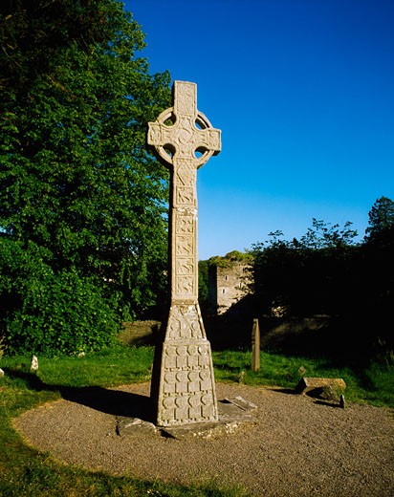 High Cross, Moone, Co Kildare, Ireland : Stock Photo