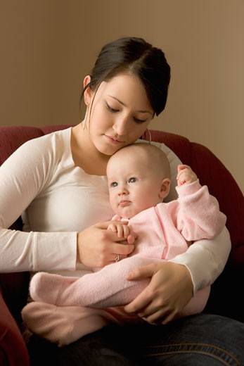 Mother and child : Stock Photo