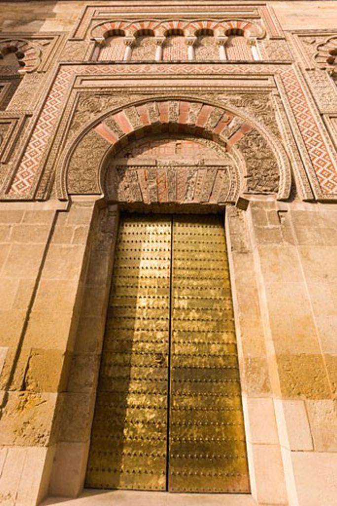 Stock Photo: 1889R-14296 Cordoba, Spain; La Mezquita, The Great Mosque