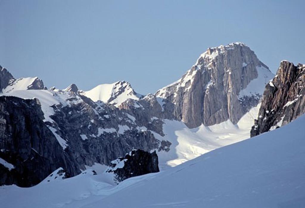 Explorers Peak, Denali National Park, Alaska, USA   : Stock Photo