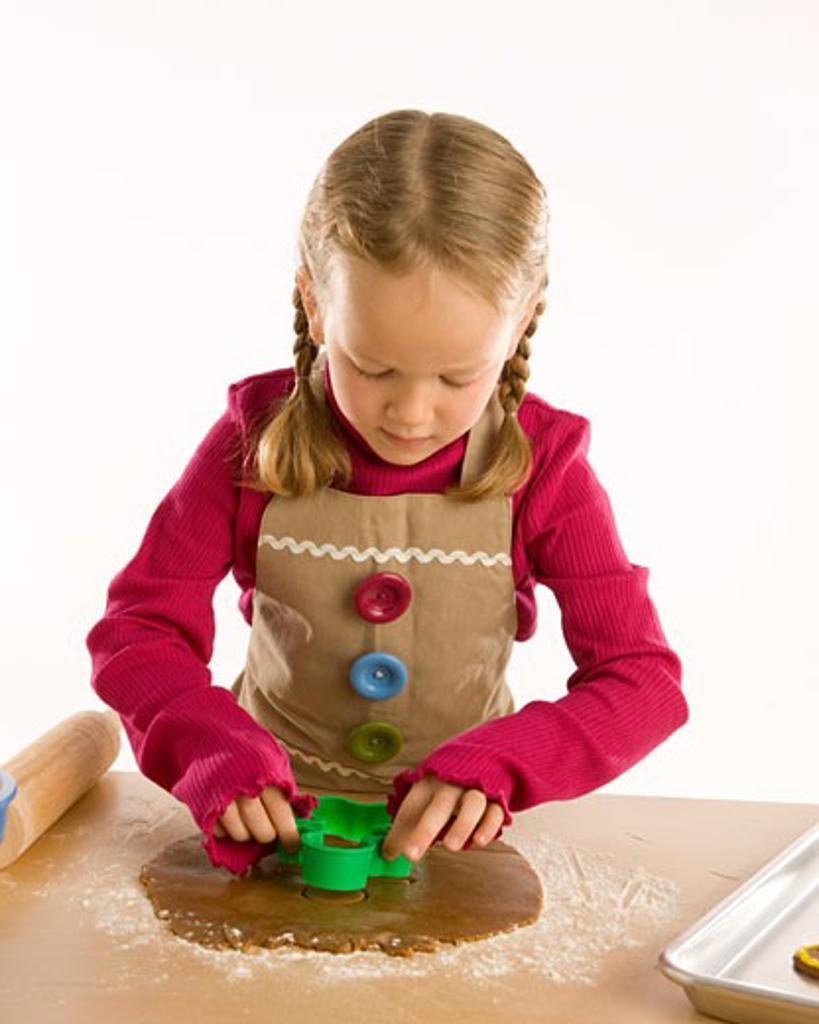 Child baking : Stock Photo