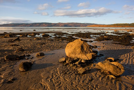 Stock Photo: 1889R-15103 Rocky beach, Argyll and Bute, Scotland