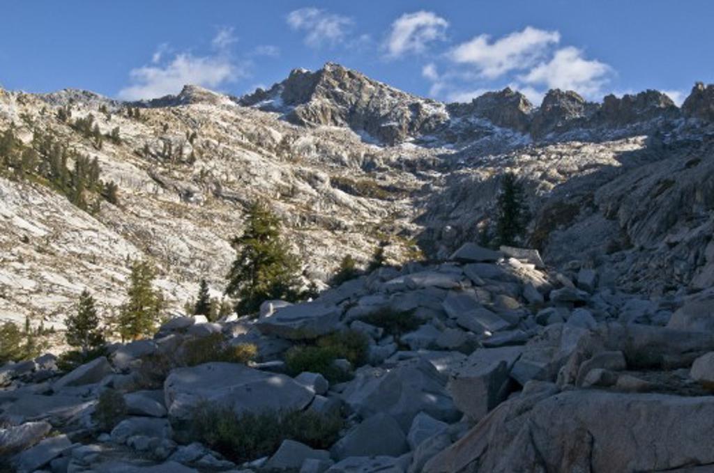 Sequoia National Park, California, USA; Mountain scene   : Stock Photo