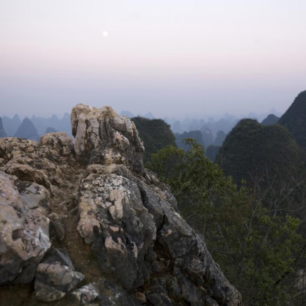 Stock Photo: 1889R-16368 Yangshou, Guilin, Guangxi Province, China