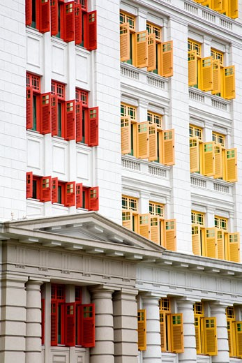Singapore, Asia; MICA Building on Hill Street : Stock Photo