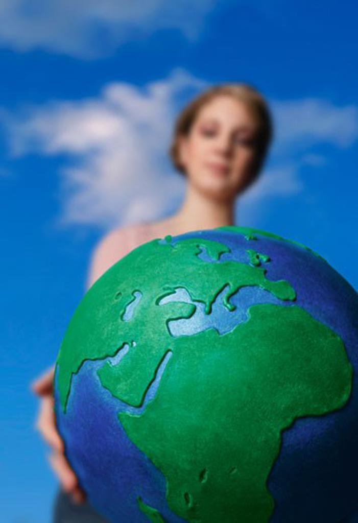 World globe : Stock Photo