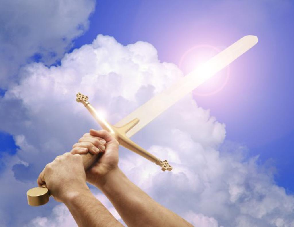 Sword of the Spirit : Stock Photo