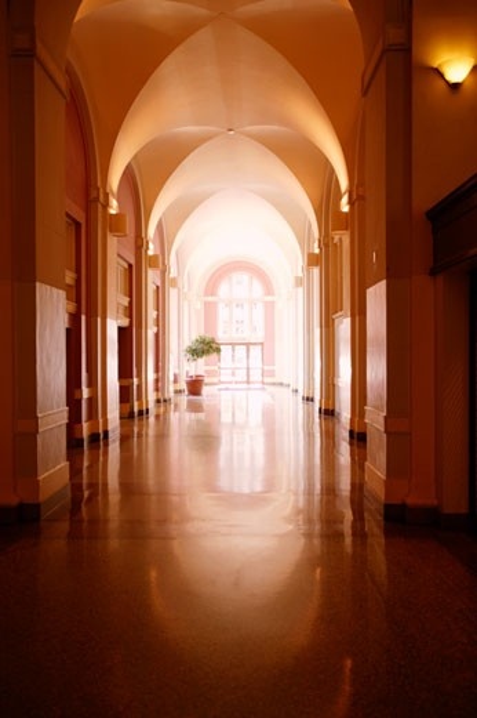 A hallway : Stock Photo