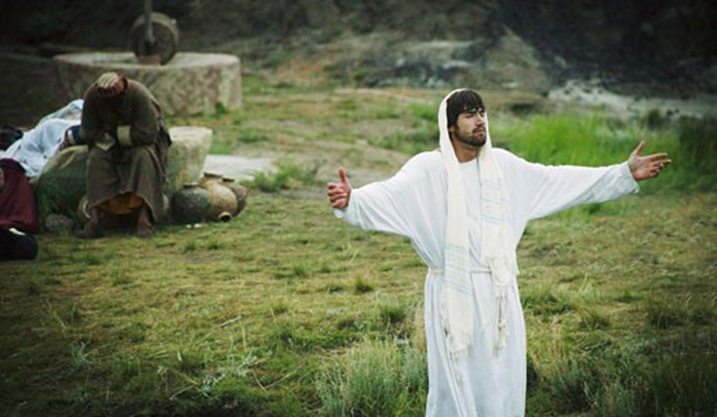 Stock Photo: 1889R-22244 Jesus praying