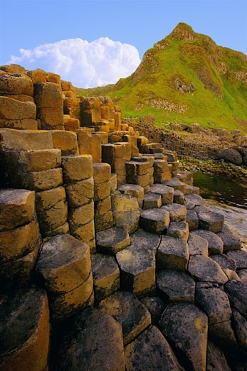 Stock Photo: 1889R-23524 Giant's Causeway
