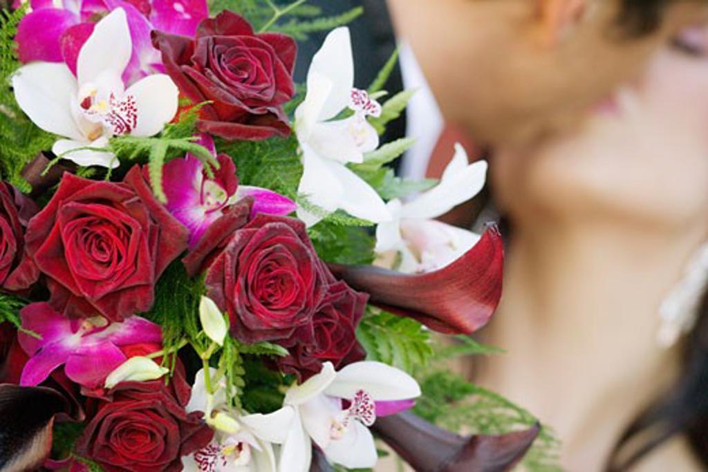 Stock Photo: 1889R-25529 Bridal bouquet