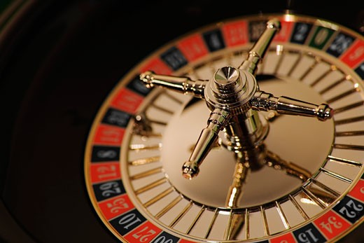 Stock Photo: 1889R-26801 Roulette wheel