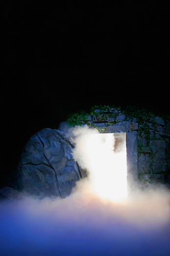 Stock Photo: 1889R-28011 Jesus' tomb