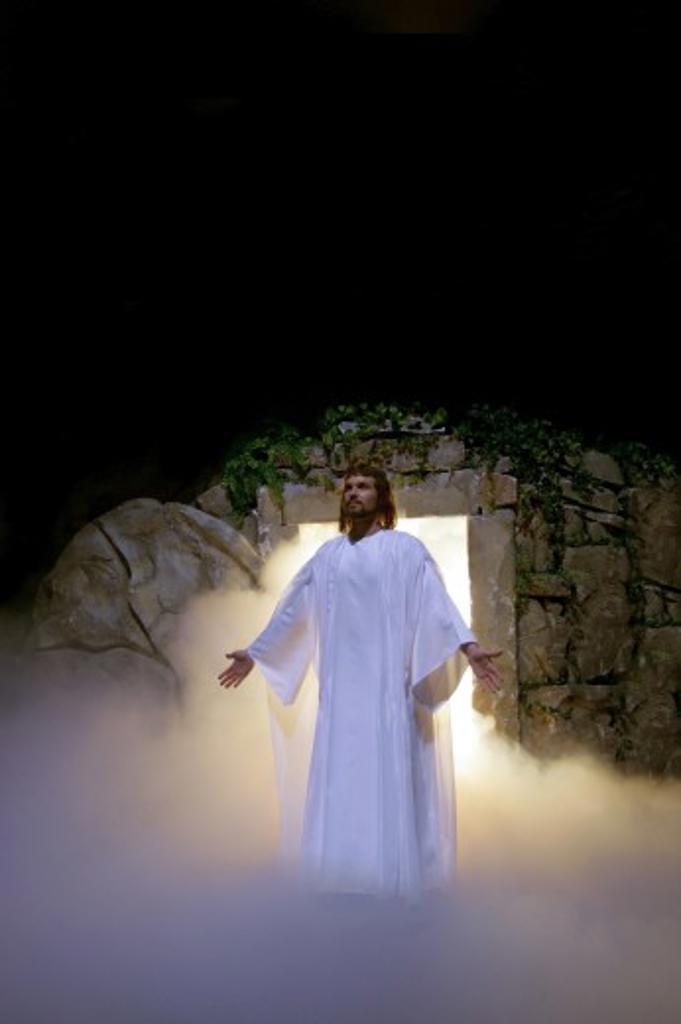 The Resurrection of Jesus : Stock Photo