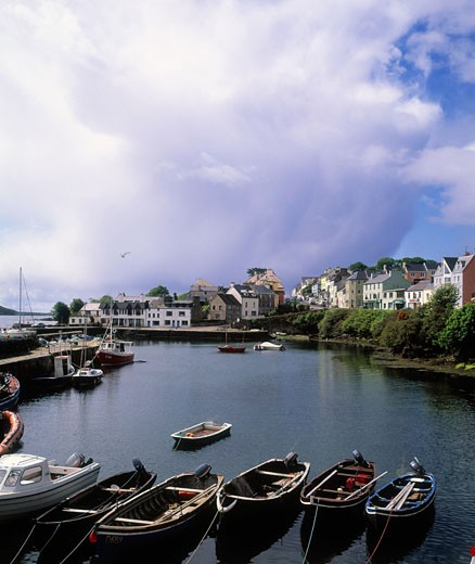 Roundstone Harbour in Connemara, County Galway, Ireland : Stock Photo