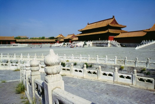 The Forbidden City, Beijing, China : Stock Photo