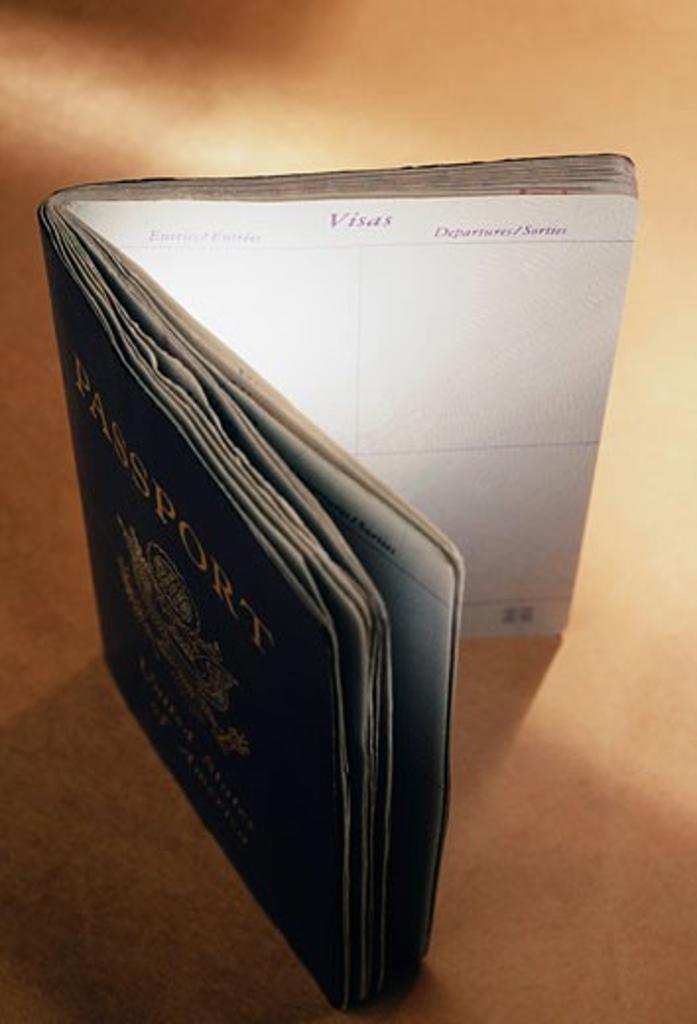 United States passport   : Stock Photo