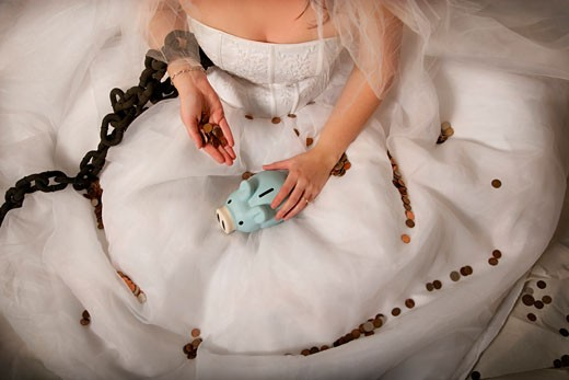 Stock Photo: 1889R-33250 Marrying for money