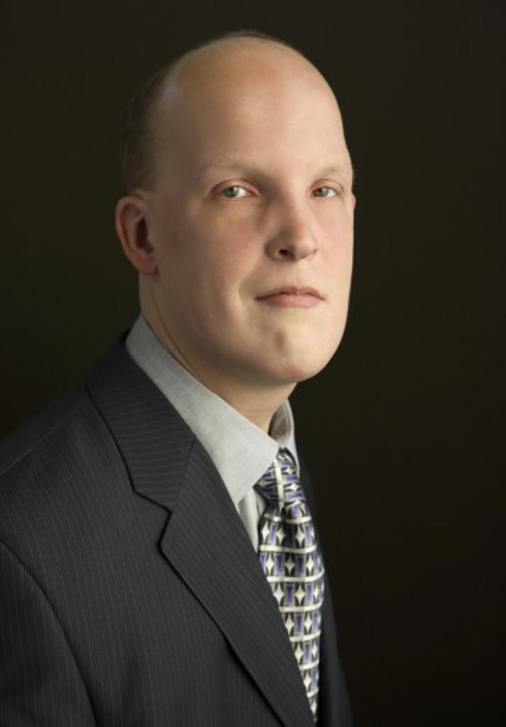 Stock Photo: 1889R-33273 Portrait of a businessman