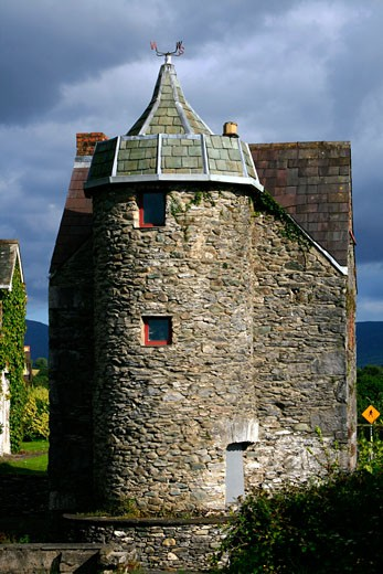 Old tower house in Killarney, County Kerry, Ireland : Stock Photo