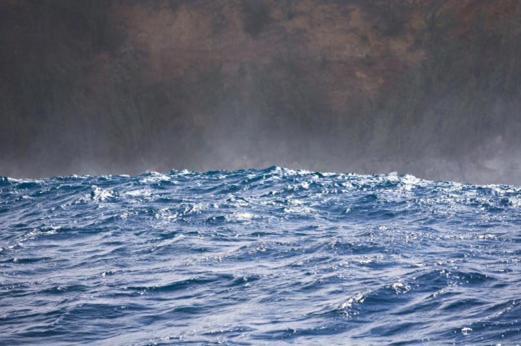 Stock Photo: 1889R-38985 Waves breaking, Maui North Shore, Hawaii, USA