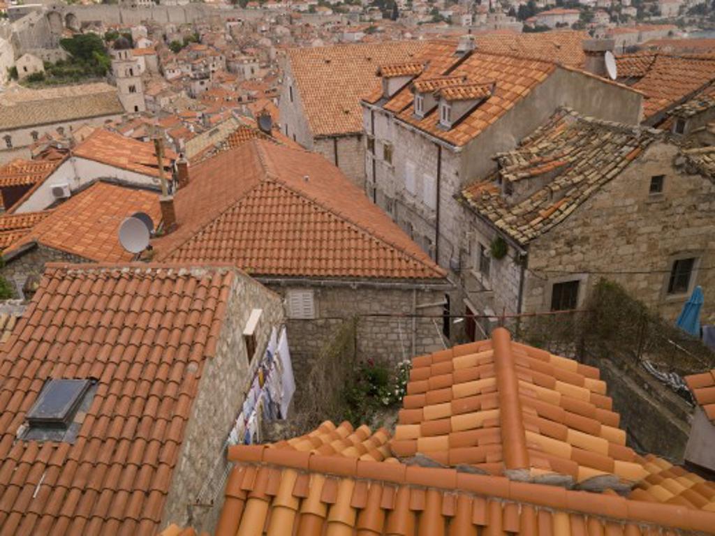 Rooftops, Dubrovnik, Croatia   : Stock Photo