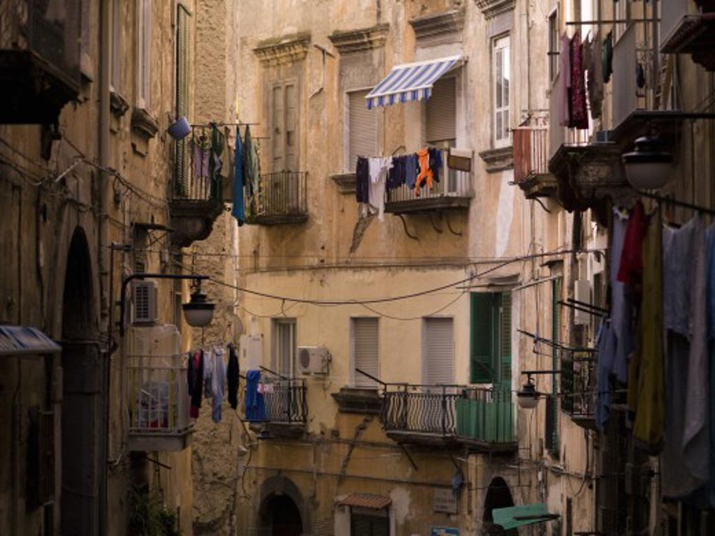Apartments, Naples, Italy   : Stock Photo