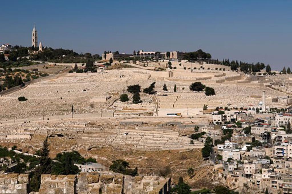 Seven Arches Hotel, Mount of Olives, Jerusalem, Israel   : Stock Photo
