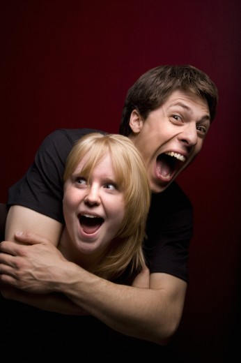 Laughing couple : Stock Photo