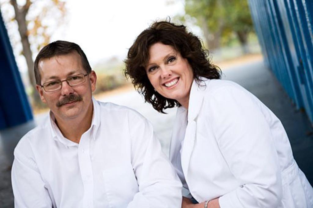 Portrait of a couple : Stock Photo