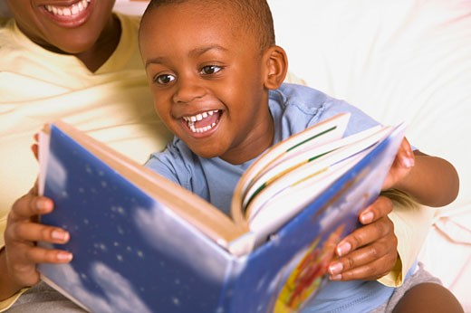 A bedtime story : Stock Photo