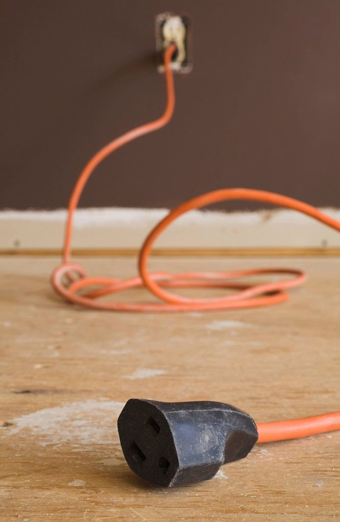 Stock Photo: 1889R-46673 Extension cord