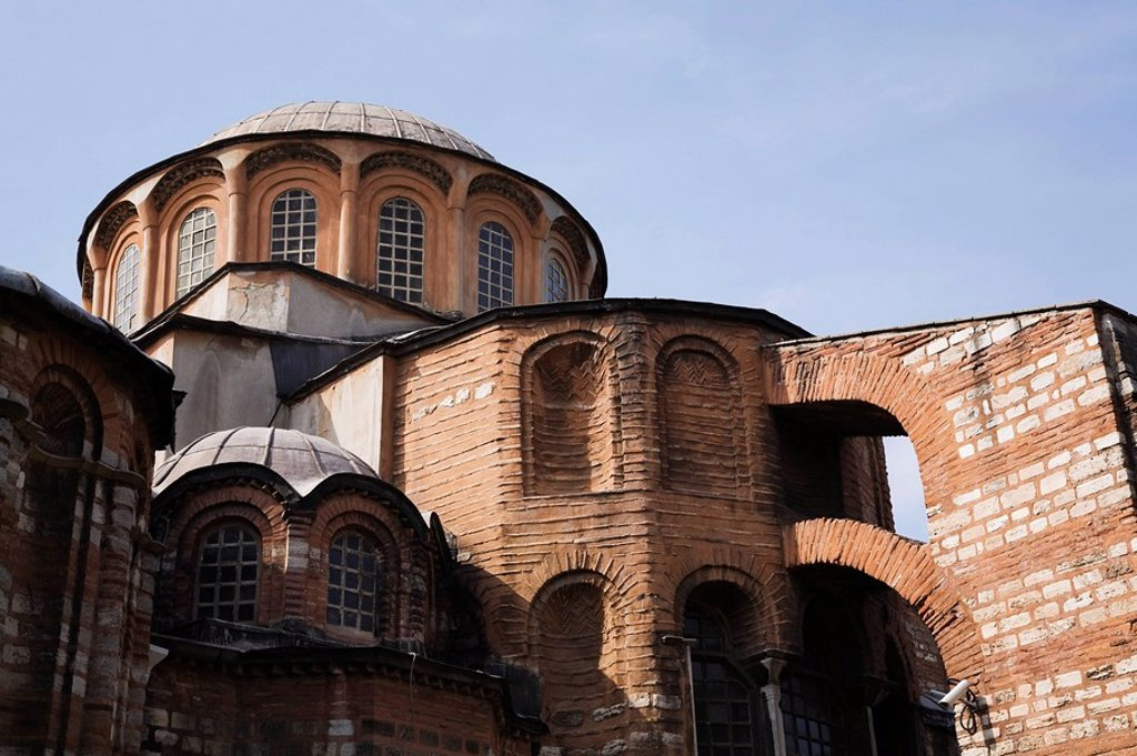 Church of St. Savior in Chora, Istanbul, Turkey : Stock Photo