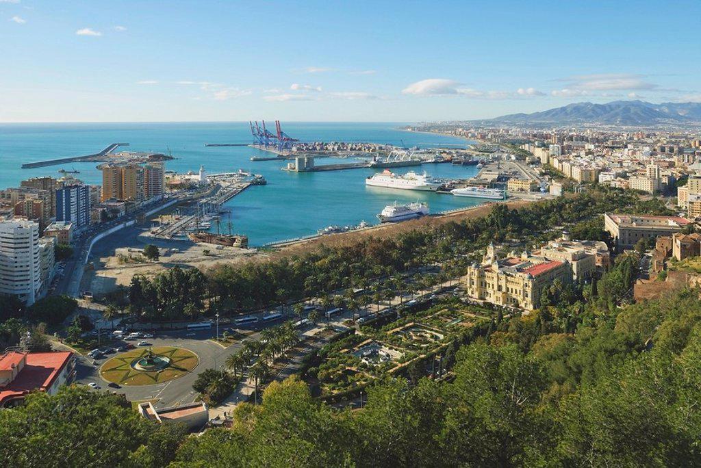 Malaga, Andalusia, Spain : Stock Photo