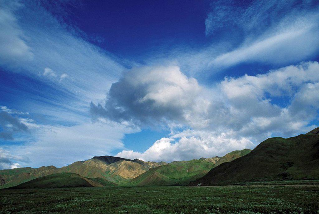 Chugach Mountains, Alaska : Stock Photo