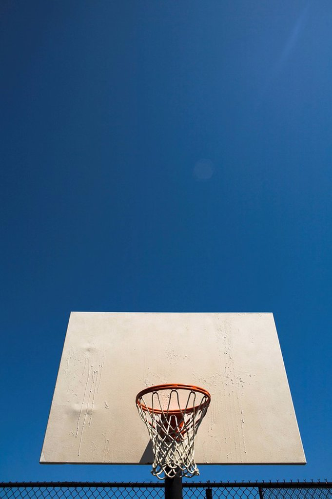 Stock Photo: 1889R-50032 basketball hoop