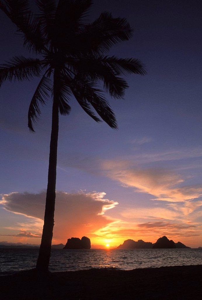 sunrise, koh ngai, trang islands, thailand : Stock Photo